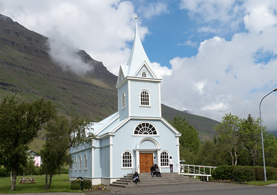 Old Church in Seydisfjordur