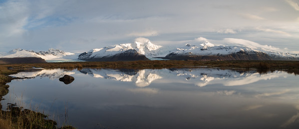 Mountain vista reflection
