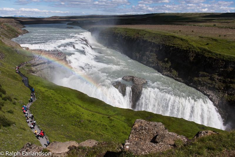 Gullfoss: Iceland's Golden Falls.