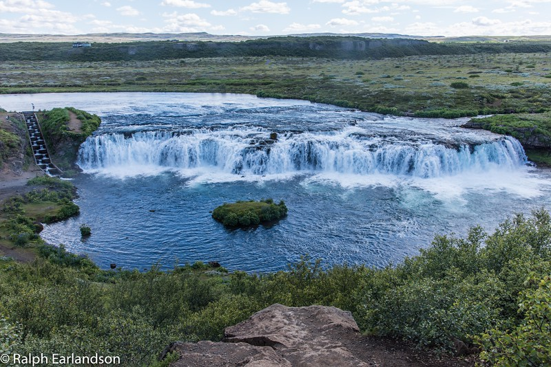 Faxa, one of Iceland's many waterfalls.