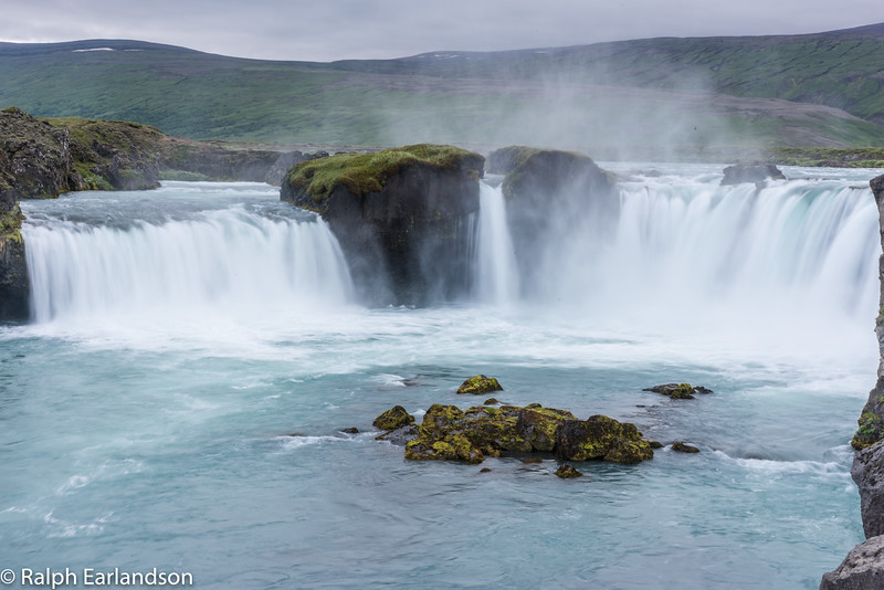 Godafoss, Iceland's Waterfall of the Gods.