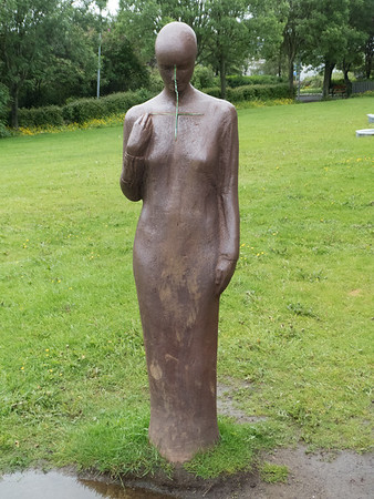 Kollun (Calling), a monument to the work of the Order of Saint Joseph's Sisters of Chambéry, for the Sick and Children in Iceland