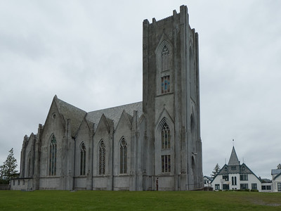 Christ the King Cathedral (Catholic). Reykjavik