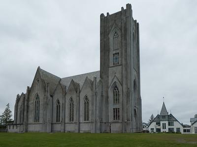 Christ the King Cathedral (Catholic). Reykjavik
