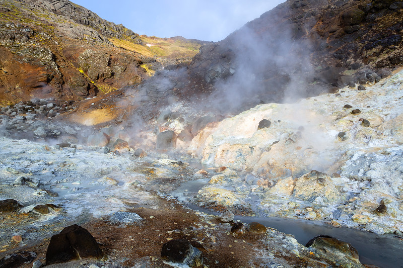 Seltún : the colourful geothermal area at Krýsuvík (3)