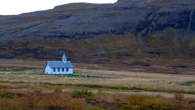 Breiðabólstaðarkirkja at Skógarströnd (Snæfellsnes)