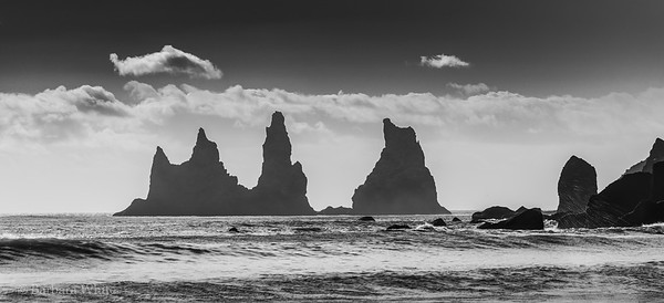 Reynisdrangar Rock Formations