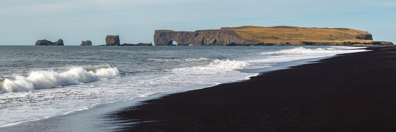 Dyrhólaey (view from Reynisfjara beach)