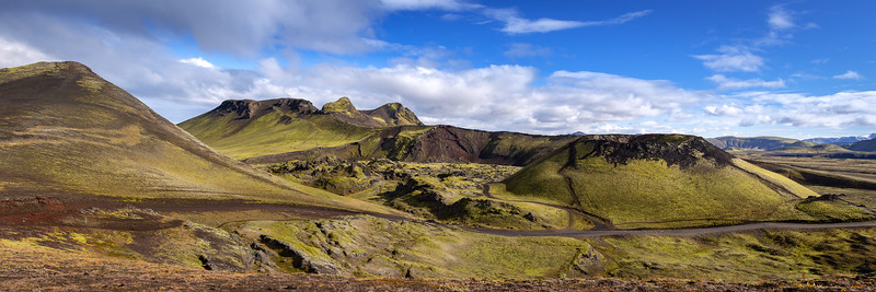 Stútur volcanic crater (F208 on the way to Landmannalaugar)