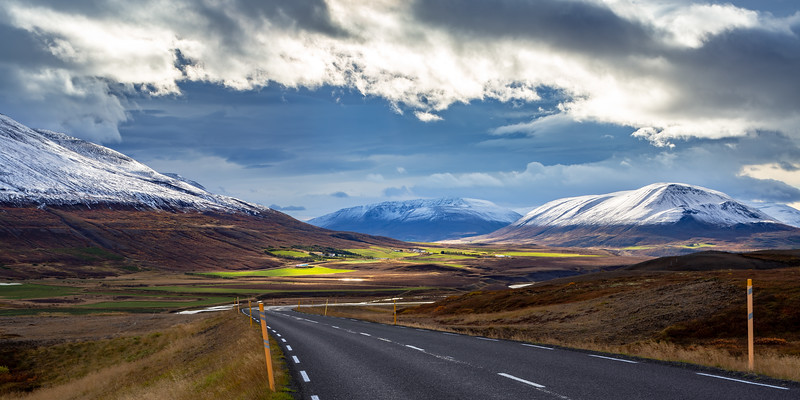 Víkurskarð (a mountain road between the town Akureyri, North Iceland, and the rest of North East Iceland)