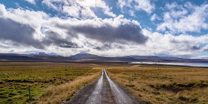 Somewhere on a side road of the Vestfjarðavegur (or the Road 60)