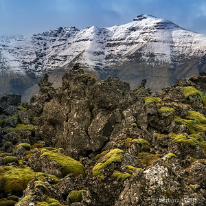 Lava and Mountain