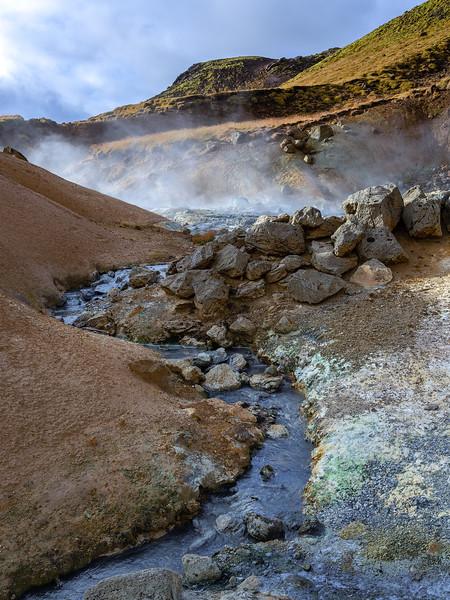 Seltún : the colourful geothermal area at Krýsuvík (4)