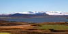 Lake Mývatn with a view on Þverárfjall (Hverfjall)