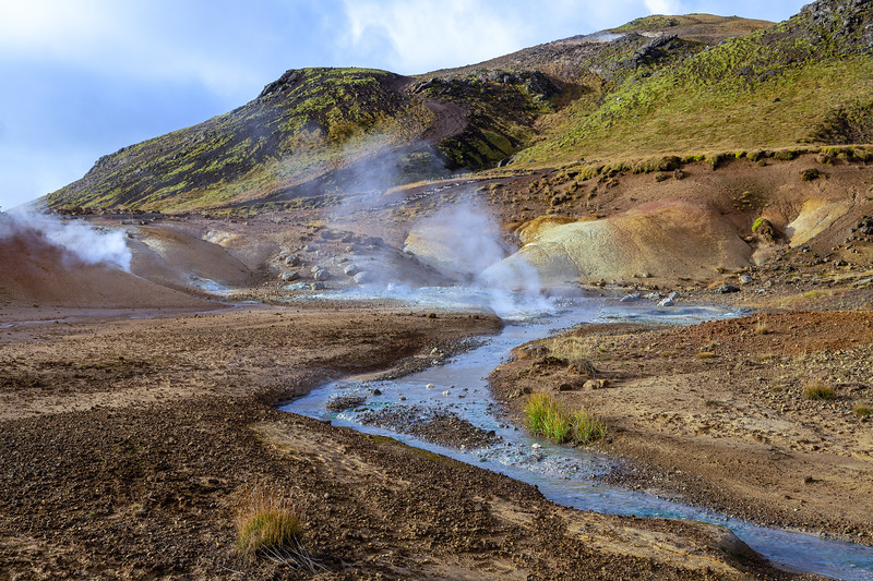Seltún : the colourful geothermal area at Krýsuvík (2)