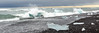 The Diamond Ice Beach or Jökulsárlón Beach