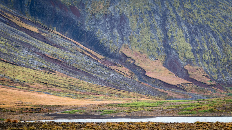 The united colours of ... Icelandic mountains ...