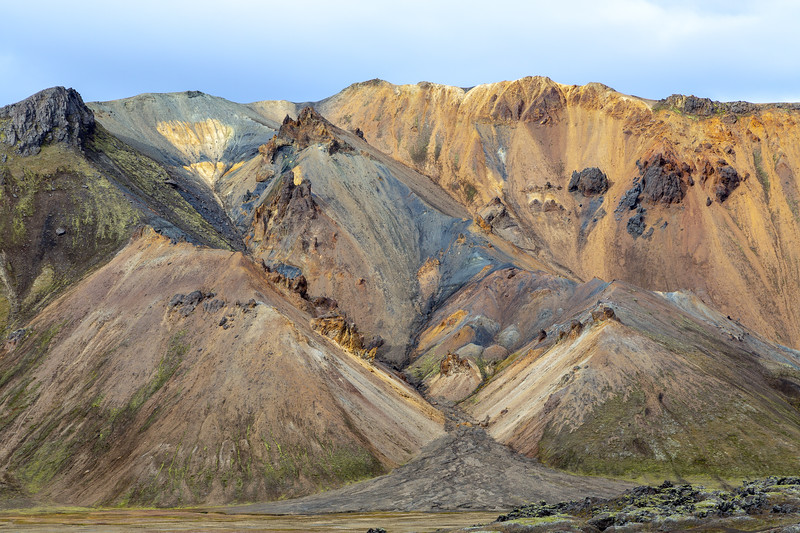 Suðurnámur : some of the most surreal multicoloured mountains in the world (Landmannalaugar)