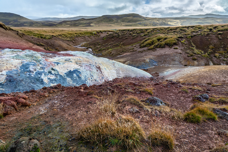 Seltún : the colourful geothermal area at Krýsuvík (5)