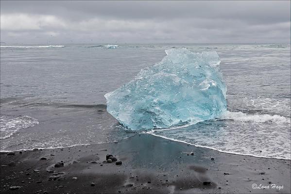Jökulsárlón Glacier Lagoon - Diamond Beach