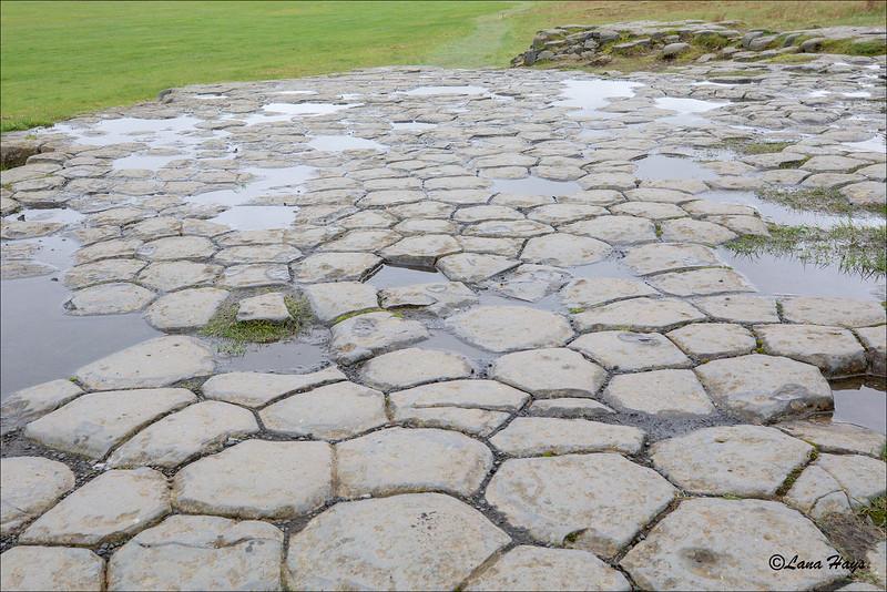 Kirkjugólf a unique basalt rock formation