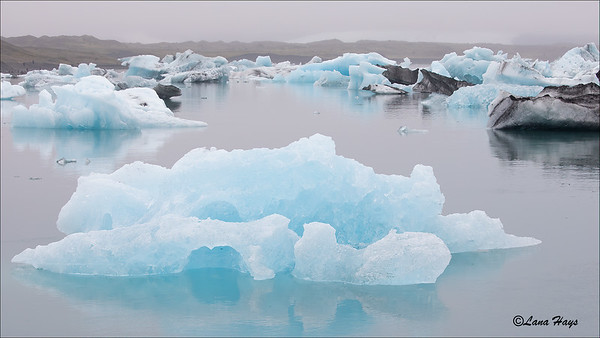 Jökulsárlón Glacier Lagoon - Icebergs
