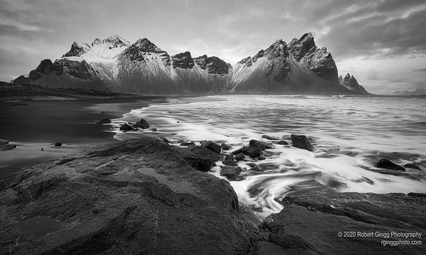 Vestrahorn Mountains in Iceland