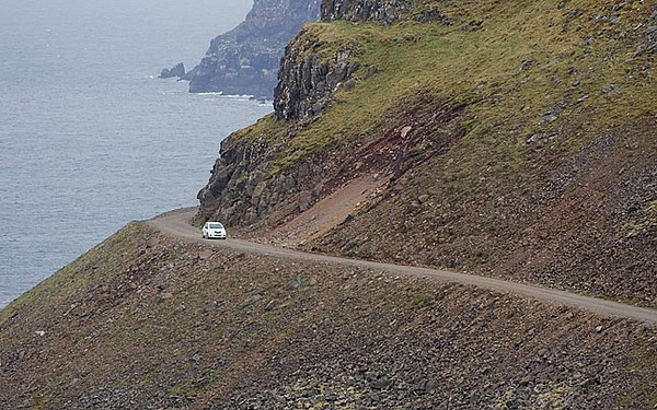 Road to the Puffins