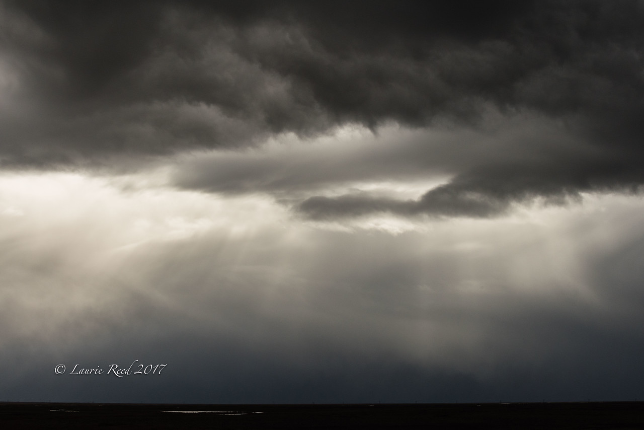 Very stormy skies over the south coast