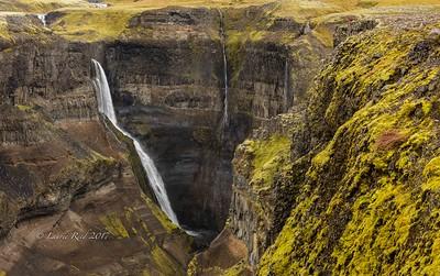 Companion waterfalls to Haifoss