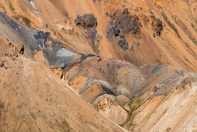 "Getting ""abstract-y"" at Landmannalaugar"