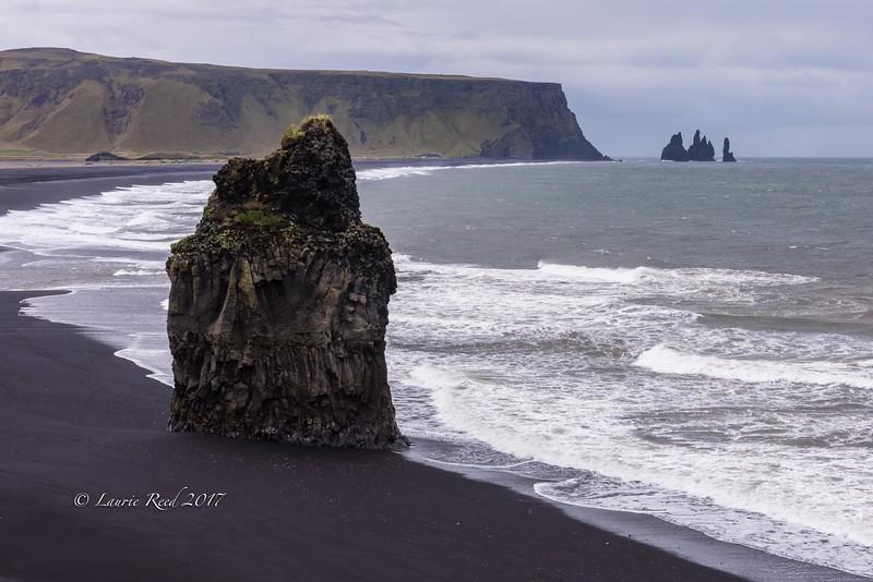 Sea stacks near Vik