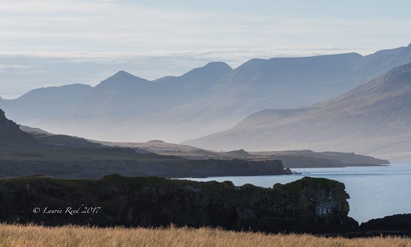 Looking west toward the bottom end of Fáskrúðsfjörður