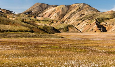 The rhyolite hills of Landmannalaugar