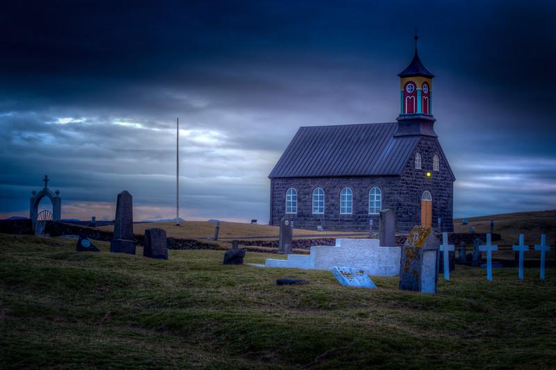 Hvalsneskirkja Church, Reykjanes Peninsula