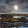 Rocks And Sun, Snaefellsness Peninsula