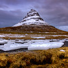Kirkjufell With Ice, Snaefelsness Peninsula