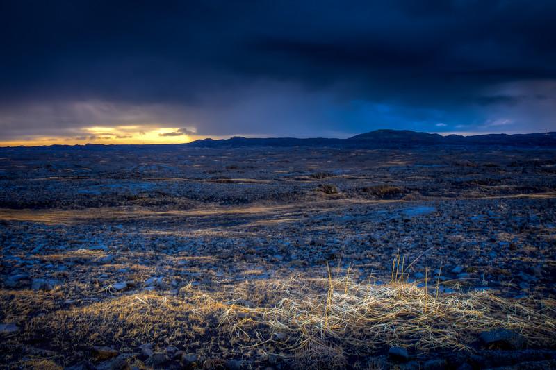 Sunrise, Reykjanes Peninsula