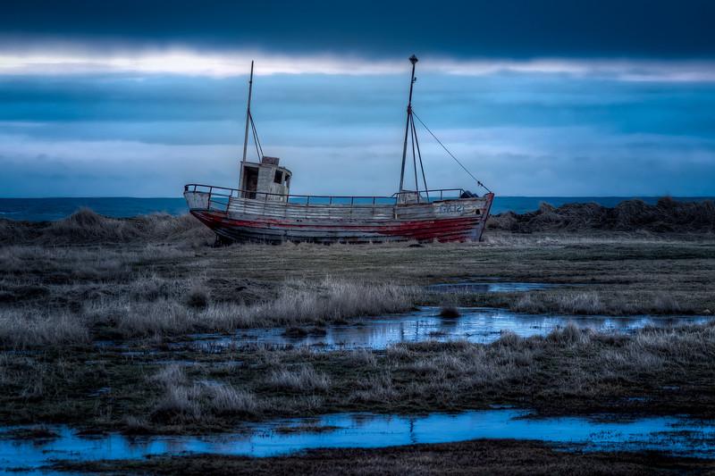 Abandoned Boat, Reykjanes Peninsula