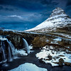 Kirkjufell Mountain Under Blue Sky, Snaefelsness Peninsula
