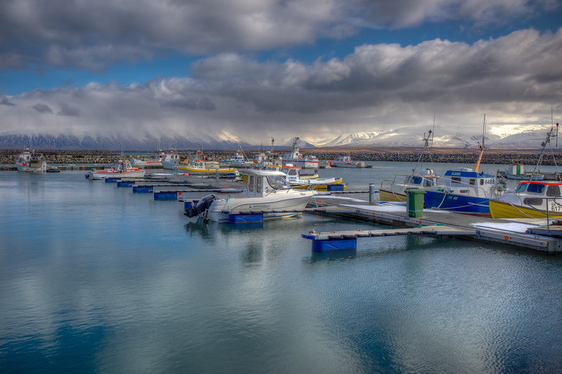 Saudarkrokur Harbor, North Iceland