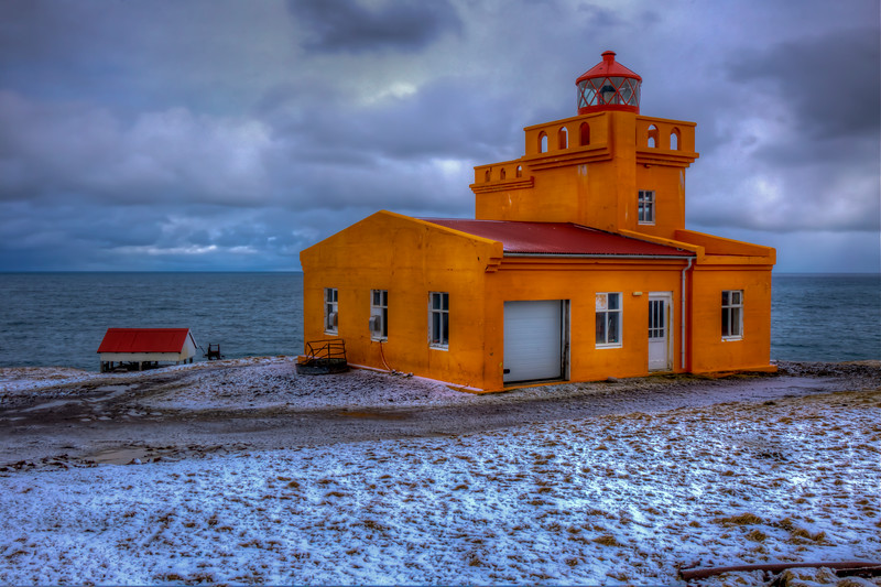 Lighthouse, Siglurforder, North Iceland