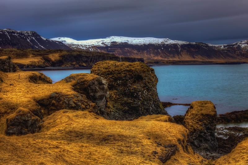Cliffs At Arnastapi, Snaefelsness Peninsula