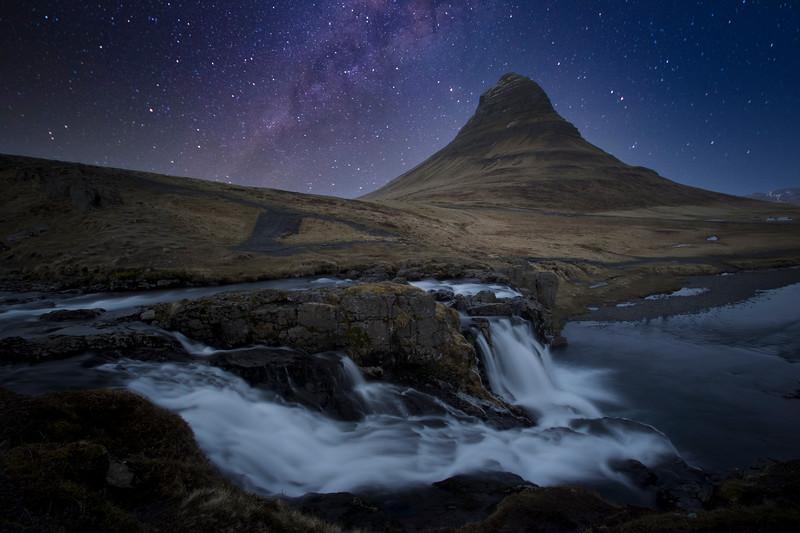 Kirkjufell Mountain, North Iceland