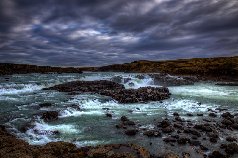 Uridifoss Watefall, South West Iceland