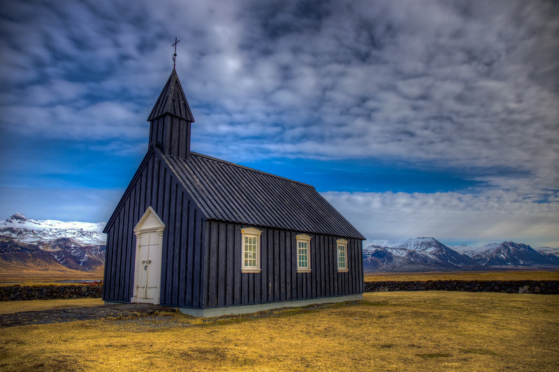 Budir Church, Snaefelsness Peninsula