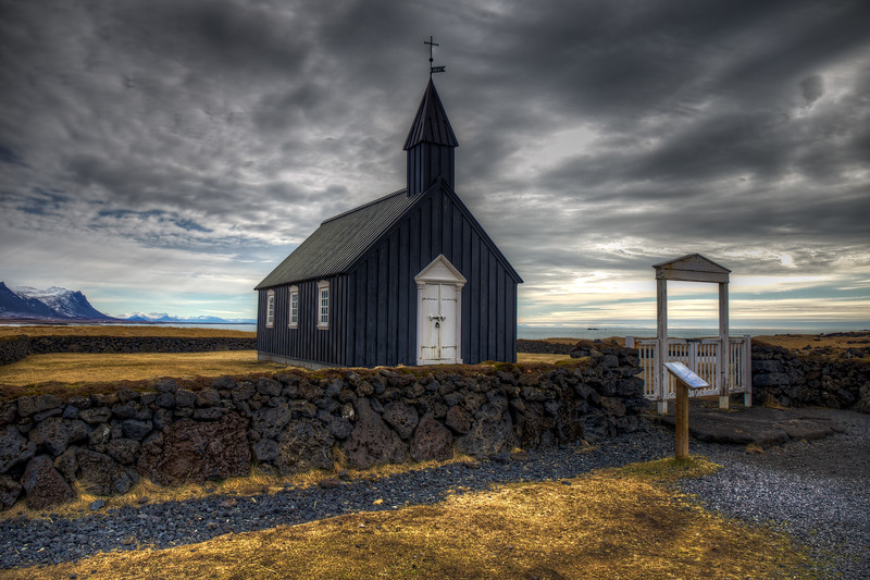 Budir Church #2. Snaefelsness Peninsula