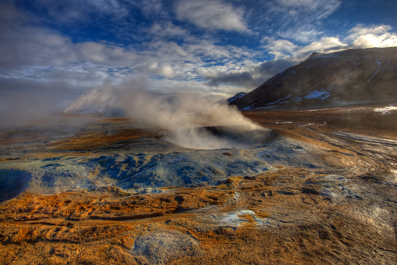 Mud Pots, Namafjall