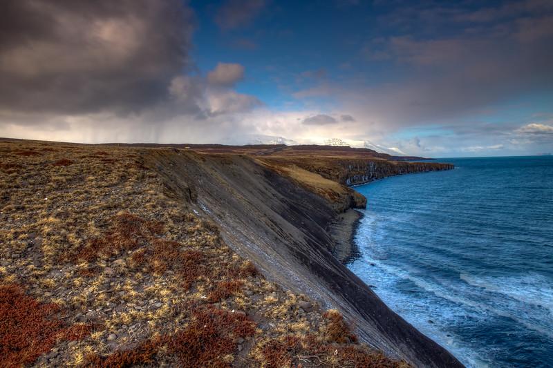 Ocean Cliffs, North Iceland