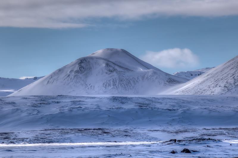 Mountain Range, Lake Myvatn Region